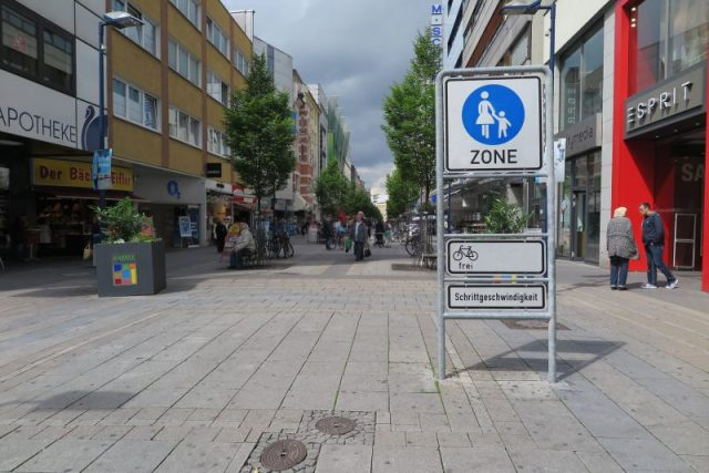 Offenbach Fußgängerzone